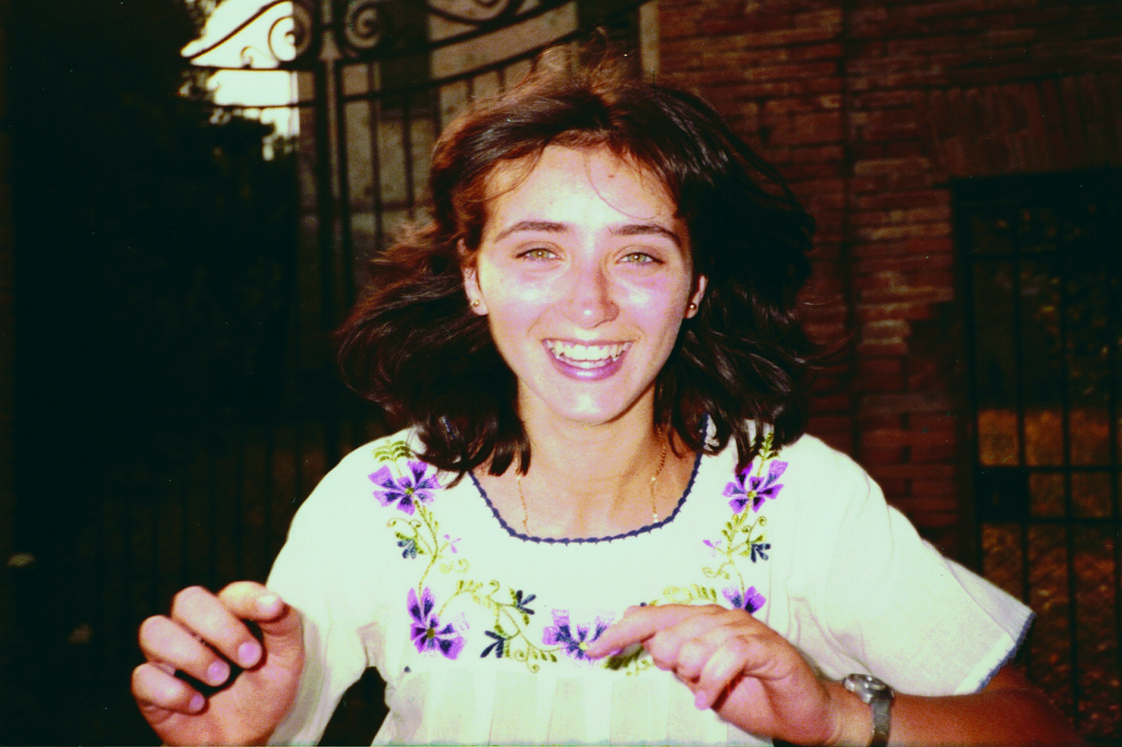La gioia di Sandra Sabattini